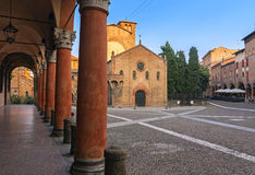 Santo stefano Square - bologna Stock Photos