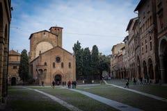 Santo stefano square in bologna, italy Stock Photos