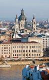 Santo Stephens Basilika (Szen Istvan Bazilika) en el ci del capital Foto de archivo libre de regalías