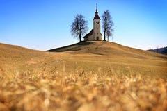 Santo Thomas Church, Eslovenia Fotografía de archivo