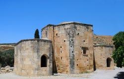 Santo Titus Basilica en Gortyn Foto de archivo libre de regalías