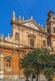 Santo Tomas Apostol y S Felipe Neri, Valencia Fotografía de archivo