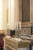 Santo Tomas de Villanueva chapel, Saint Mary's Cathedral, Valencia Stock Photography