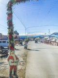 Santo Tomas Jawny rynek, Santo Tomas, Davao, Del Norte, Philip Zdjęcia Royalty Free