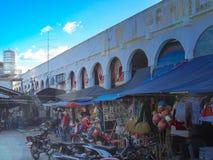 Santo Tomas Jawny rynek, Santo Tomas, Davao, Del Norte, Philip Zdjęcie Stock