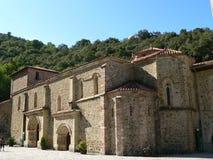 Santo Toribio de Liebana Camaleno (Spanien) Fotografering för Bildbyråer