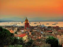 Santo-Tropez Foto de archivo libre de regalías