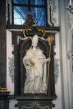 Santo Ulrich de Augsburg Imagenes de archivo
