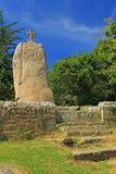 Santo Uzec del menhir Fotografía de archivo libre de regalías