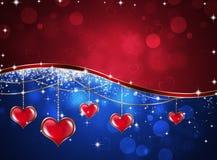 Santo Valentine Greeting Card Imagen de archivo libre de regalías