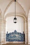 Santo Vicente de Fora Monastery en Lisboa, Portugal Fotos de archivo