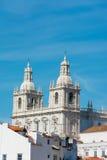 Santo Vicente de Fora Monastery, Portugal de Lisboa Imágenes de archivo libres de regalías