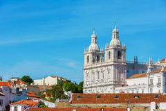 Santo Vicente de Fora Monastery, Portugal de Lisboa Imagen de archivo