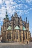 Santo Vitus Cathedral de Praga Imagen de archivo libre de regalías