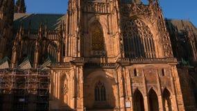 Santo Vitus Cathedral Lapso de tiempo 4K metrajes