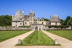 Santo Vougay, Finistère, Bretaña, Francia Imagen de archivo libre de regalías
