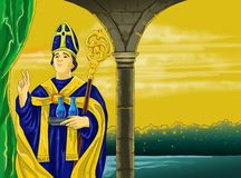 Santo-yanuarius Stockbilder
