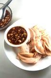 Santol fruit Thai traditional dessert style Royalty Free Stock Photography