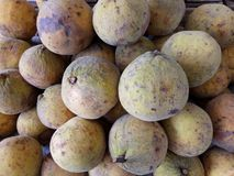 Santol frukt arkivfoton