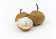 Santol a taste of Thailand tropical fruit Royalty Free Stock Images