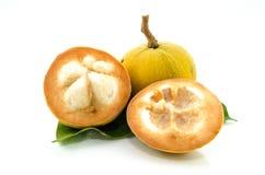 Santol, tropical fruit Royalty Free Stock Photos