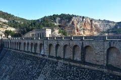 Santoleareservoir in Teruel, Spanje royalty-vrije stock fotografie