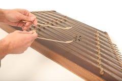 Santoor. Iranian Wooden dulcimer musical instrument Royalty Free Stock Images
