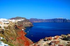 Santorin|圣托里尼 免版税库存照片