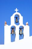 Santorin. Bells of a church Stock Photo