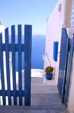 Santorin. Greek, holiday, church Stock Photography