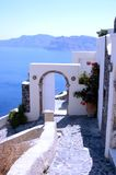 Santorin. Greek, holiday, church Royalty Free Stock Photo