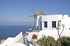 Santorin, Oia Royalty Free Stock Photos