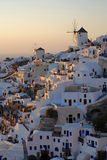 Santorin view Stock Images