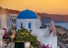 Santorini海岛,希腊 免版税库存图片