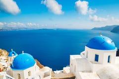 Santorini海岛,希腊 免版税图库摄影
