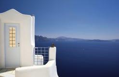 Santorini - île en Grèce Image stock