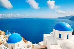 Santorini ö, Grekland Royaltyfri Fotografi