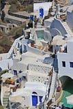 Santorini ö, Grekland Arkivfoto