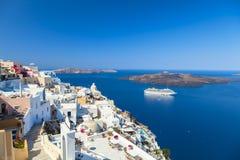 Santorini ö i Grekland Royaltyfri Fotografi