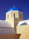 santorini εκκλησιών Στοκ Εικόνα