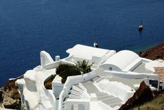 Santorini Ελλάδα Στοκ Φωτογραφία
