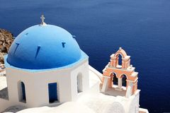 Santorini Ελλάδα Στοκ εικόνα με δικαίωμα ελεύθερης χρήσης