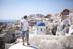 Santorini Ελλάδα στοκ εικόνες με δικαίωμα ελεύθερης χρήσης