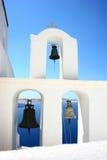 santorini κουδουνιών Στοκ Φωτογραφίες