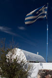 santorini νησιών εκκλησιών Στοκ Φωτογραφίες