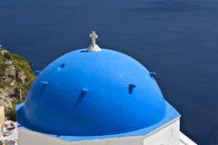 santorini νησιών της Ελλάδας εκκλησιών παραδοσιακό Στοκ φωτογραφία με δικαίωμα ελεύθερης χρήσης