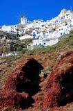 santorini νησιών της Ελλάδας Στοκ Εικόνα