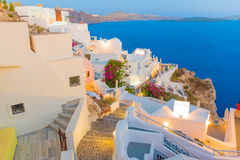 santorini της Ελλάδας Στοκ φωτογραφία με δικαίωμα ελεύθερης χρήσης