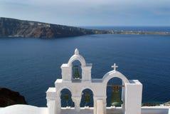santorini Греции стоковое фото