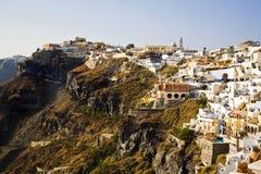 santorini Греции fira стоковые фотографии rf